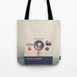 a portrait of a vintage camera Tote Bag