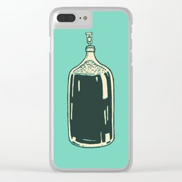 Somethings Brewin Clear iPhone Case