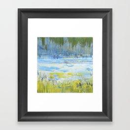 Marsh Grass  Framed Art Print