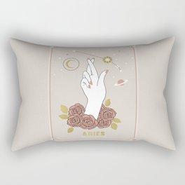 Aries Zodiac Series Rectangular Pillow