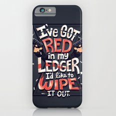Wipe out the red iPhone 6s Slim Case