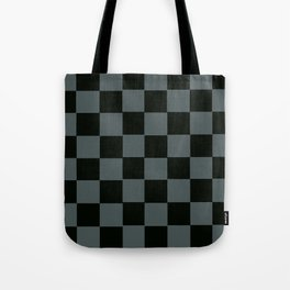 Gray & Black Chex 2 Tote Bag