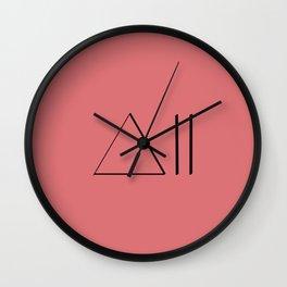 ∆ Delta Wall Clock