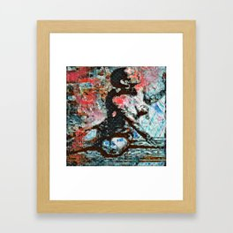 O: Walls Oppressive Framed Art Print