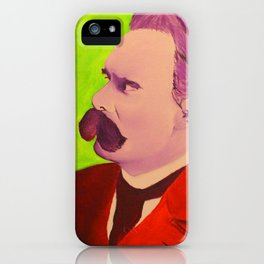 Colorful Nietzsche iPhone Case
