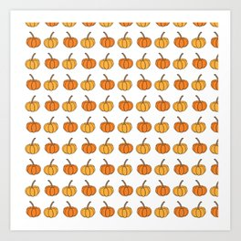 Halloween pumpkin Art Print