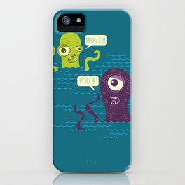 Sea Monster Games iPhone Case
