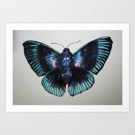 Aurora X Butterfly Art Print