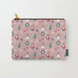 New Year Christmas winter holidays cute Carry-All Pouch