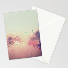 rainy reflections Stationery Cards