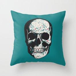 G-Skull Throw Pillow