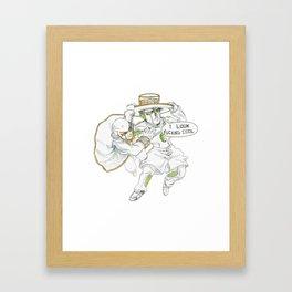 Small Ones Framed Art Print