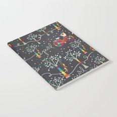 Candy YarnBomb Night Notebook