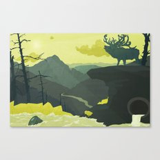 The Abandoned Frontier Canvas Print