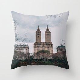 New York City Central Park Throw Pillow