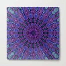 Purple Harmony Metal Print