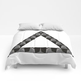 Triangle build Comforters