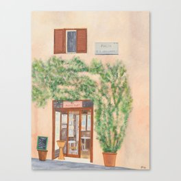 Piazza di S. Apollonia  Canvas Print