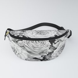 ROSES ON DARK BACKGROUND Fanny Pack