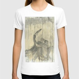 """PIANO. A SERIES OF WORKS """"MUSIC OF THE RAIN"""" T-shirt"""