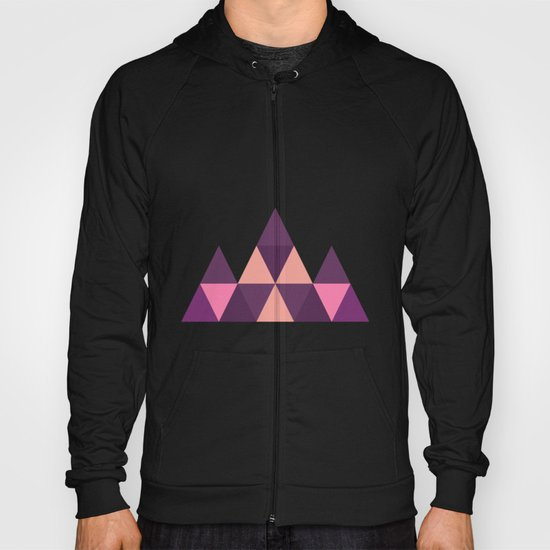 Geometric Pyramid Hoody