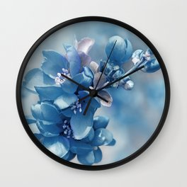 Blue 81 Wall Clock