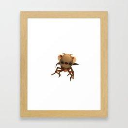 Run Cricket Run - Flying Cricket Framed Art Print
