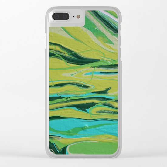 Mint Clear iPhone Case