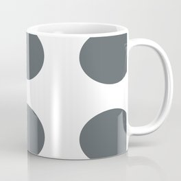 Steel Grey Ovals Coffee Mug