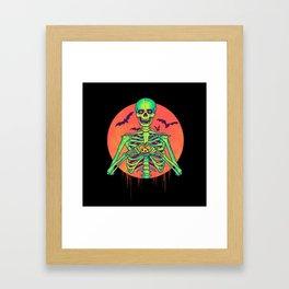 I Love Halloween Framed Art Print