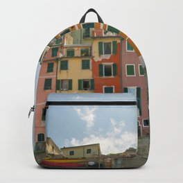 Colorful Cinque Terre 1 Backpack