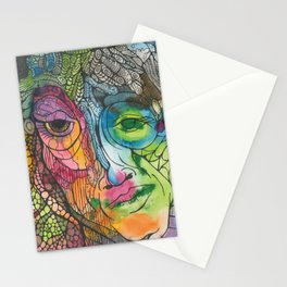 A Face Stationery Cards