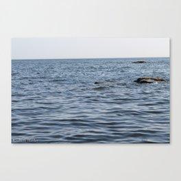 Hidden Rocks Canvas Print