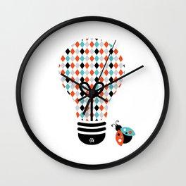 Enchanter: Bright Idea Art Series  Wall Clock