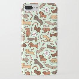 Wiener Dog Wonderland iPhone Case