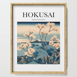 Hokusai - Fuji da Gotenyama Serving Tray