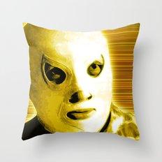 La Lucha - Yellow Edition Throw Pillow