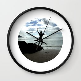 Open your mind, freedom's a state Wall Clock