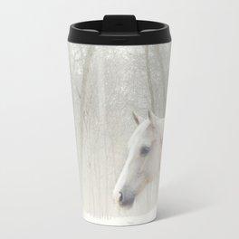 Domino in the snow Travel Mug