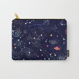 Space print Carry-All Pouch