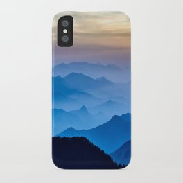 Mountains 11 iPhone Case