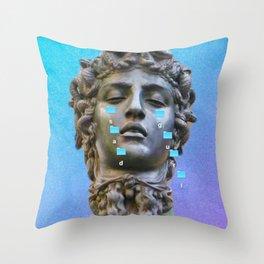 Sad Gurl Aesthetics Throw Pillow