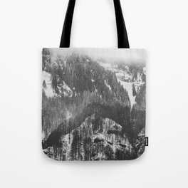 Frosty Forest - Adventure Awaits Tote Bag