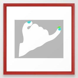 Kulangot Framed Art Print