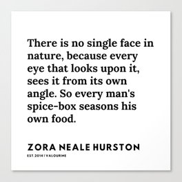 Zora Neale Hurston Quotes | 23 | 20062 | Black Writers | Motivational Quotes For Life| Canvas Print