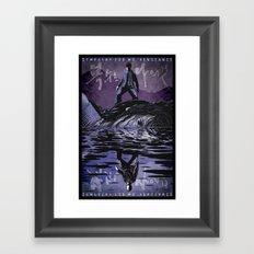 Sympathy for Mr. Vengeance [limited color] Framed Art Print