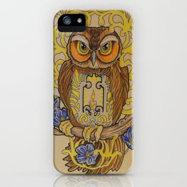 Forget Me Not iPhone Case