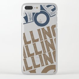 Drive Electric Clear iPhone Case