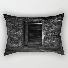 I Sit And Think - Old Ohio Basement Rectangular Pillow