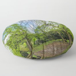 The six trees Floor Pillow